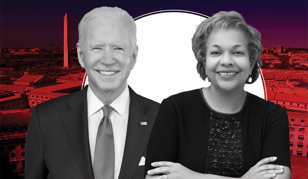 HW+ Sandra Thompson + Joe Biden