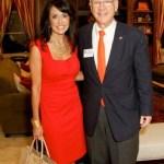 Diane Caplan, eCommerce & Director of Marketing Porsche/Audi - West Houston with Council Member Oliver Pennington