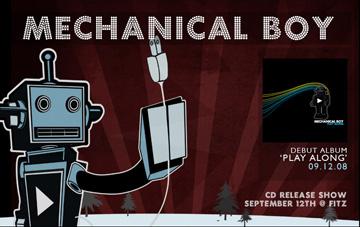 Mechanical Boy CD release show