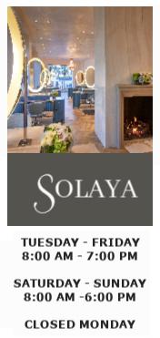 Solaya in Houston's Highland Village