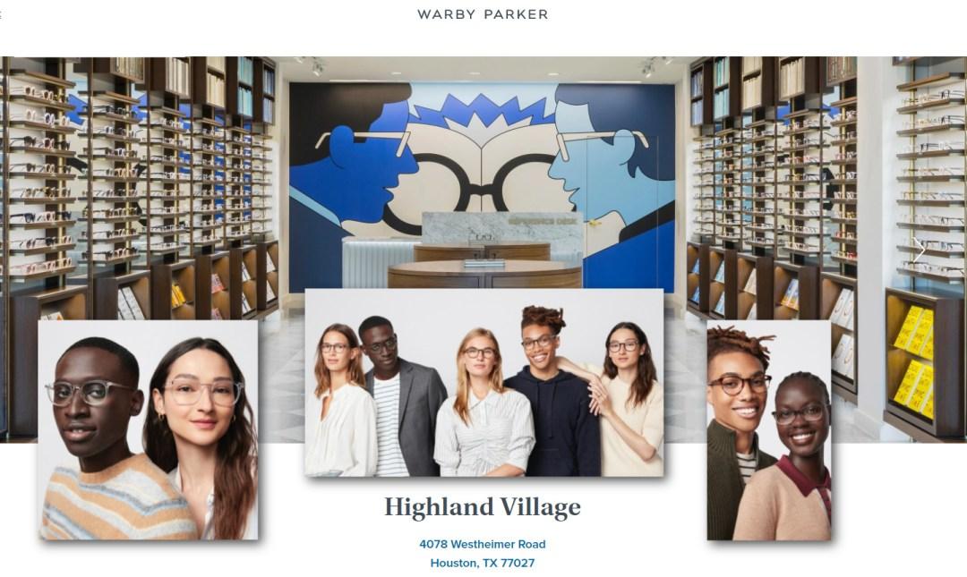 Warby Parker in Houston Highland Village
