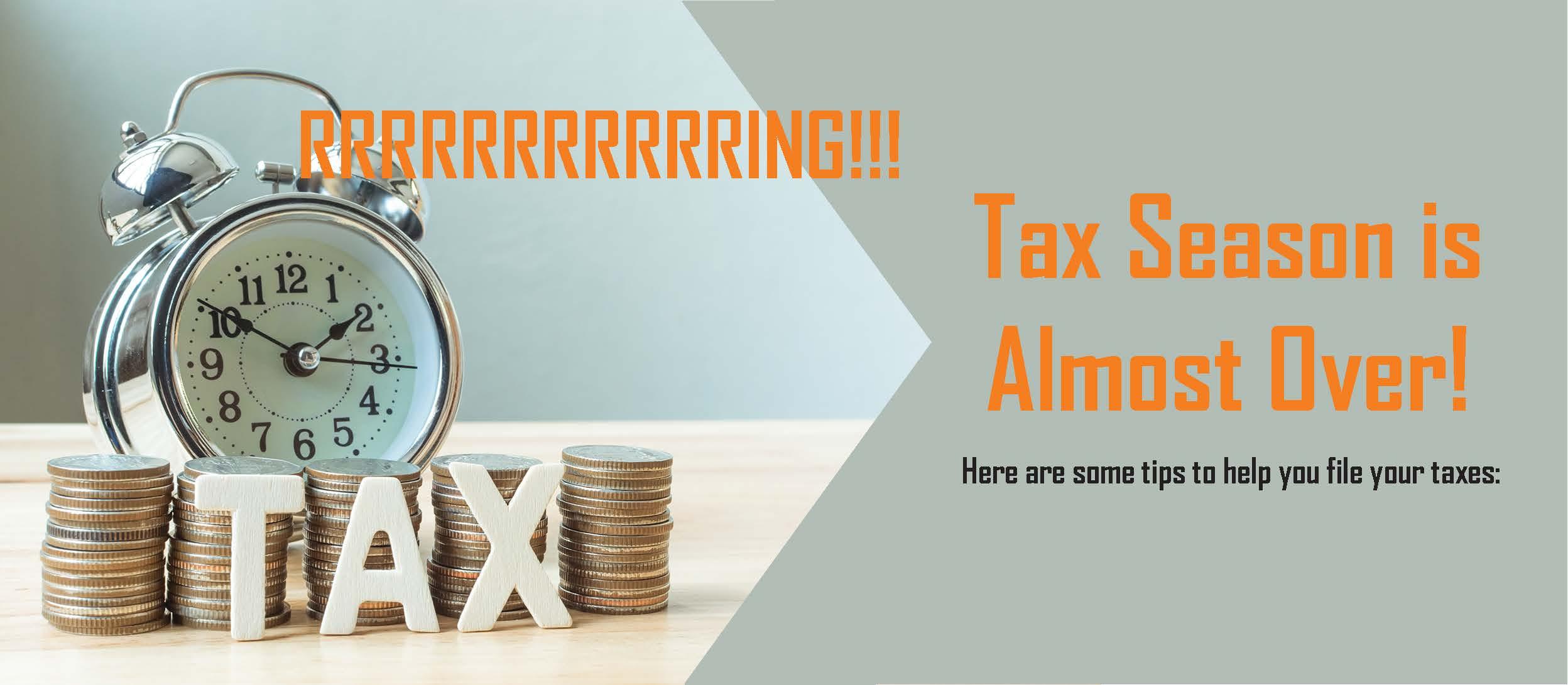 Tax Act Filing Fees