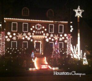 Viney Creek light display