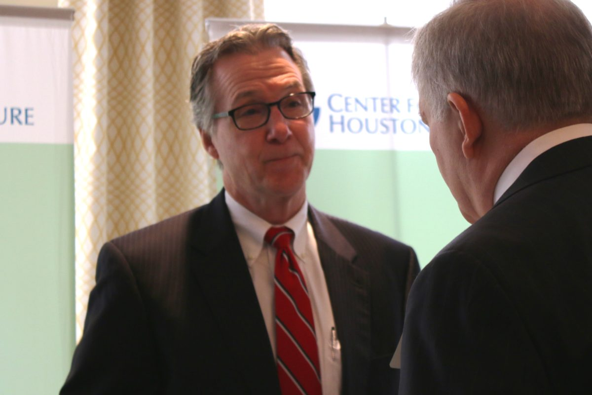 Stephen Costello, Houston's Flood Czar, at Center for Houston's Future flood forum