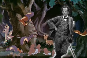 The animals of the forest sure have a lot to tell Mahler!