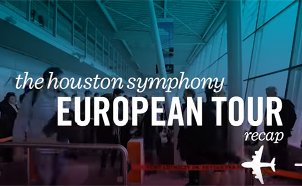 Houston Symphony European Tour