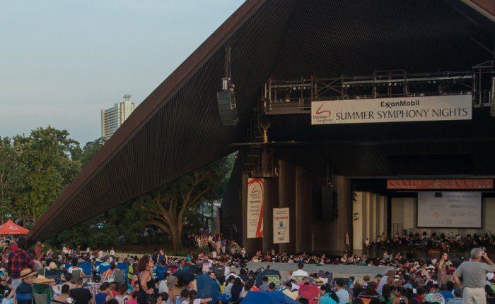 Houston Symphony Miller Outdoor Theatre concerts