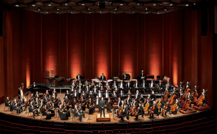 Houston Symphony musicians