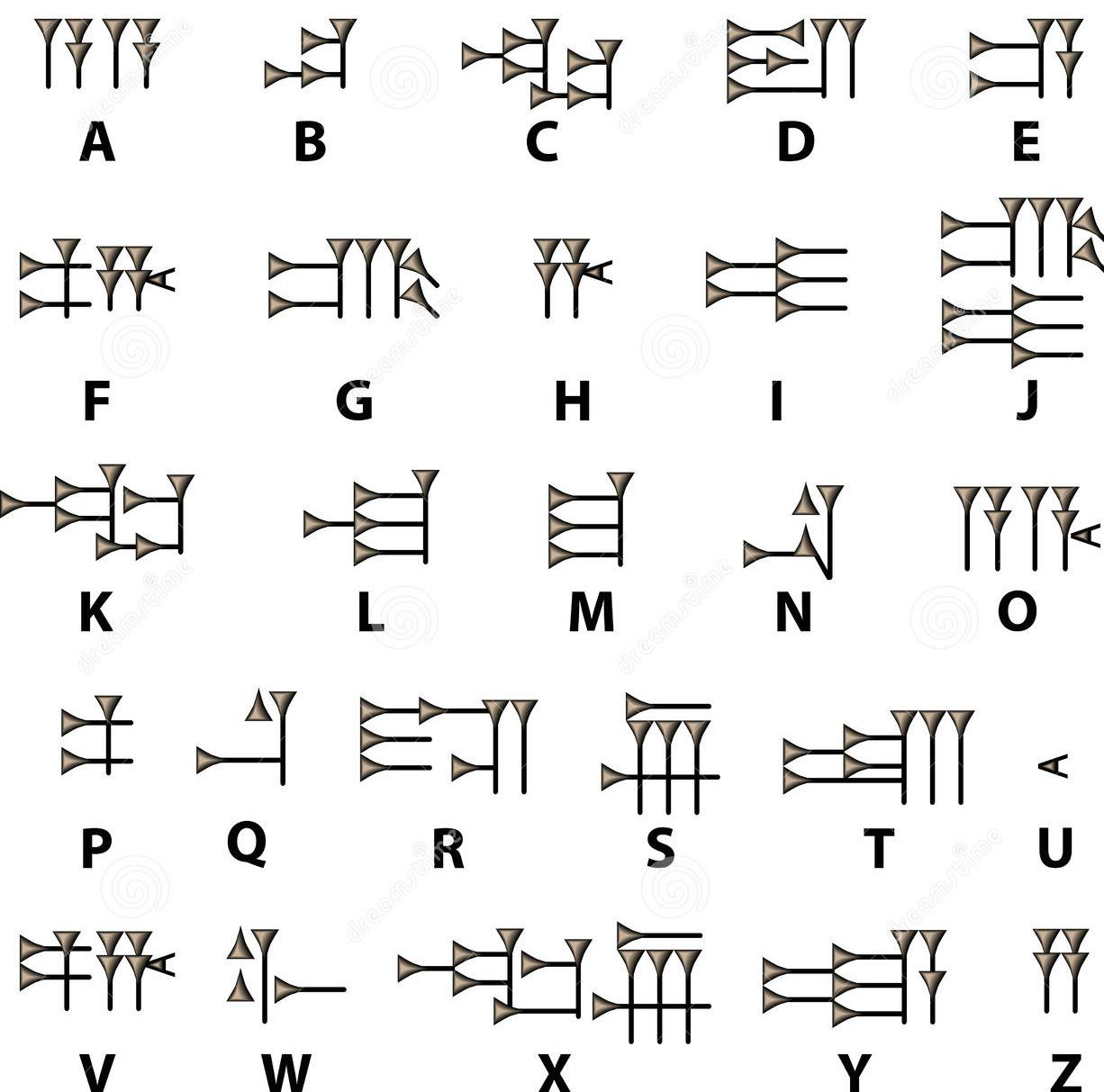 Cuneiform Activity Worksheets