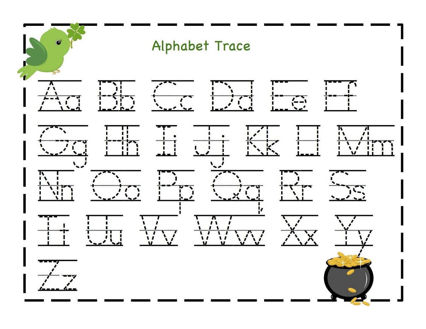 Kindergarten Letters Worksheets Free Worksheets Samples