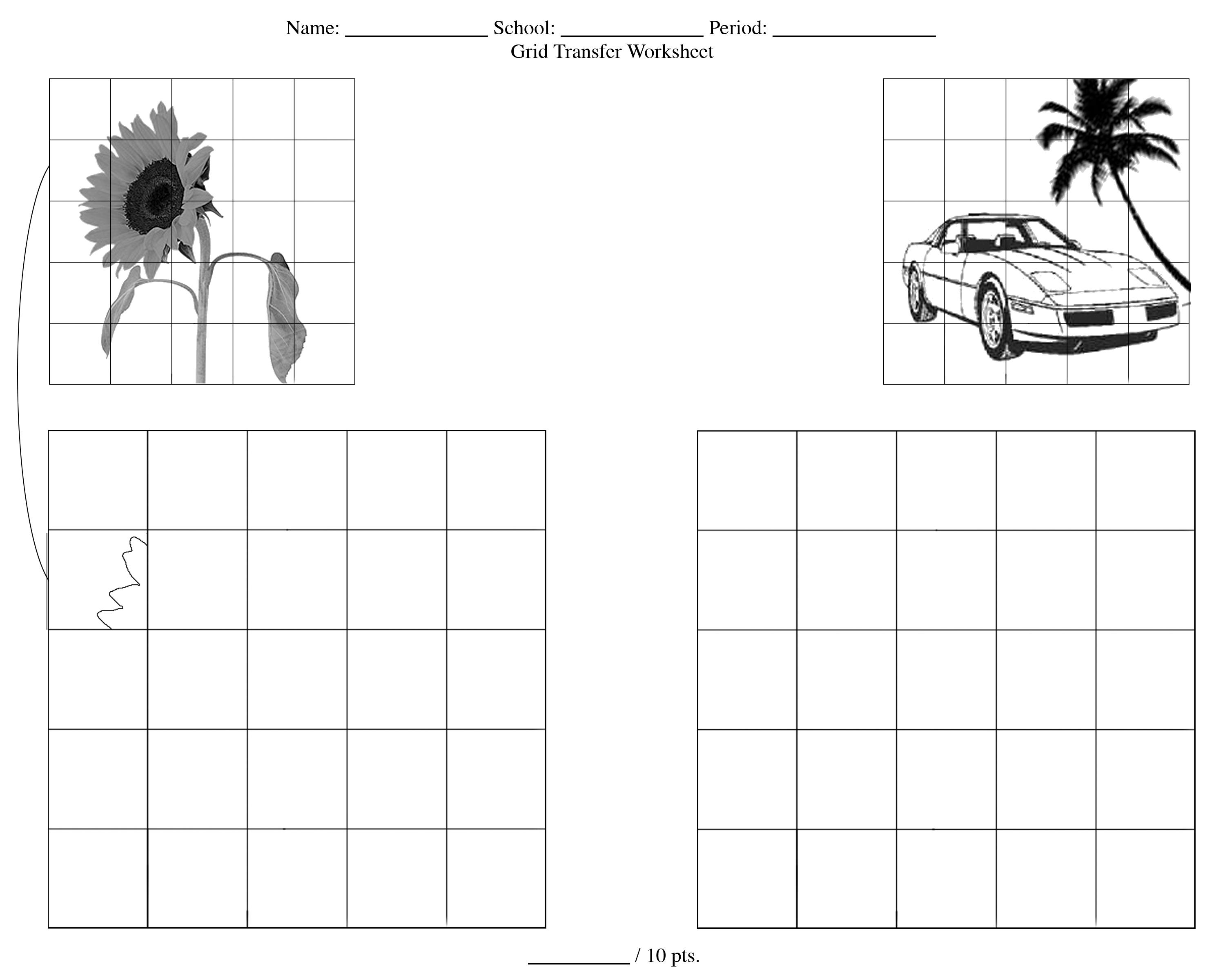 Worksheets For High School Art Free Worksheets Samples