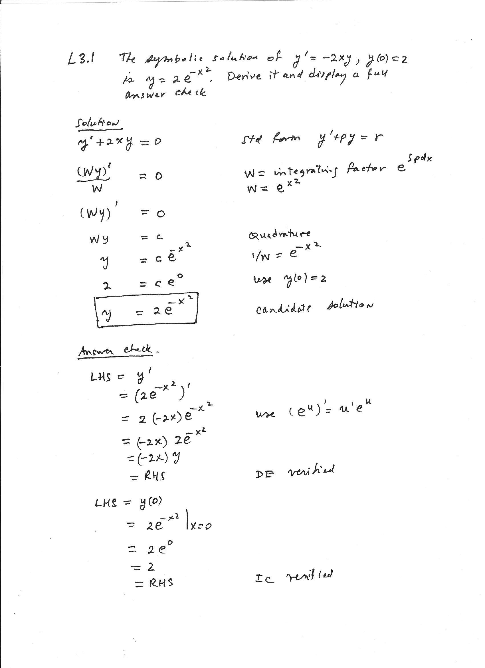 Physics Math Worksheets