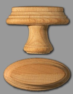 Deur- en kastknoppen