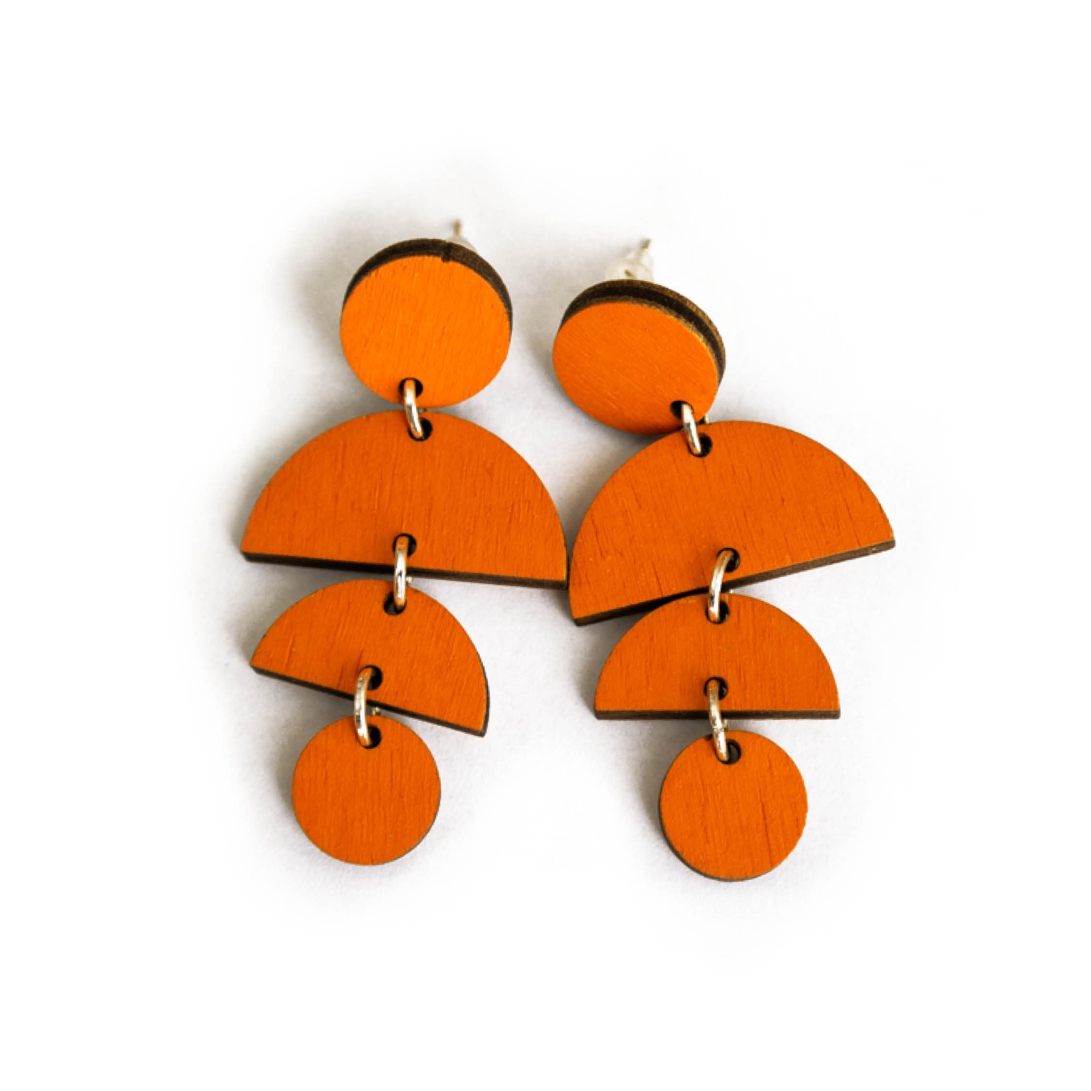 Handgemaakte houten sieraden