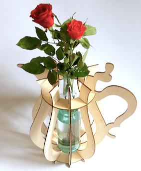 creatief met moederdag door deze vaas zelf te maken