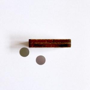 plak en klak handgemaakte magnetische kaartenhouders