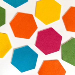mix & match onderzetters hexagon