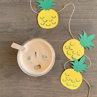 heerlijke ijskoffie voor het zomerse vakantiegevoel