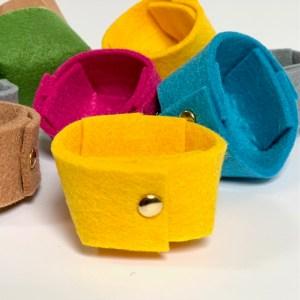 superschattige vilten mini opbergers voor juwelen en kleine kostbaarheden