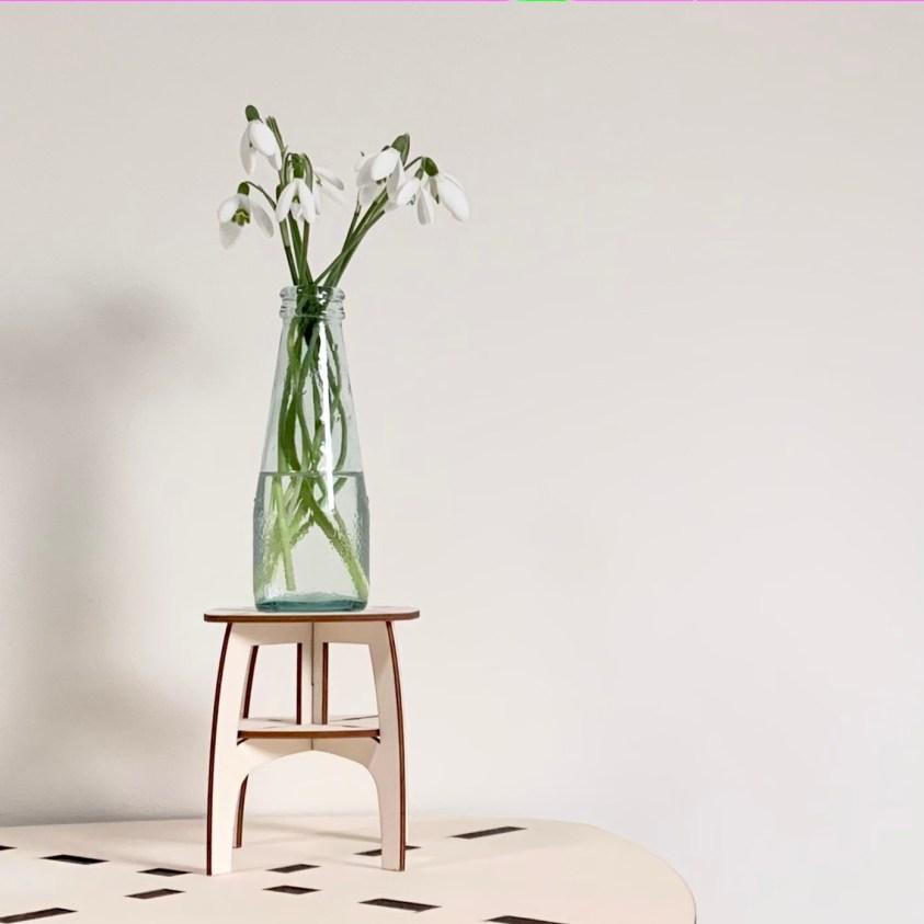 plantentafeltje voor in de vensterbank of op de schouw