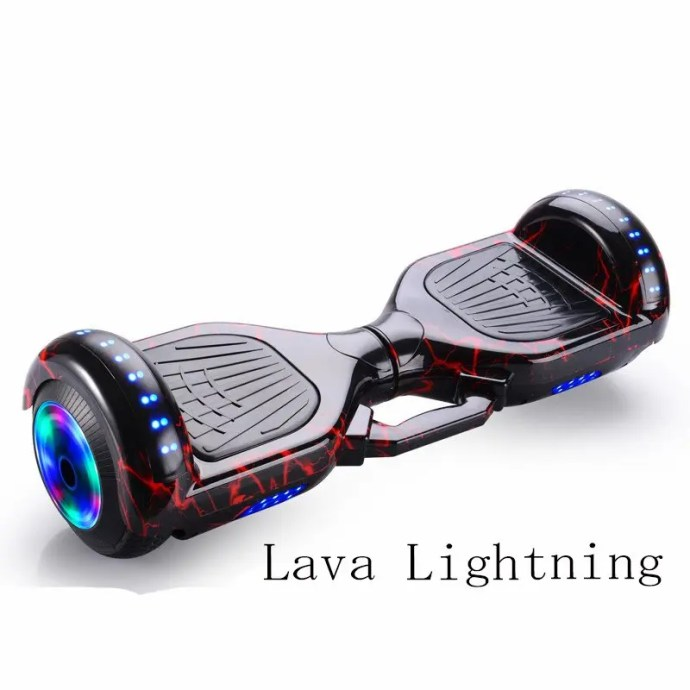 6.5 inch Smart Hoverboard Electric Balance Scooter Lava