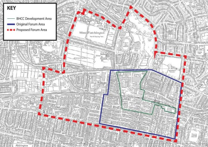 Questions about the Hove Station Neighbourhood Plan boundary