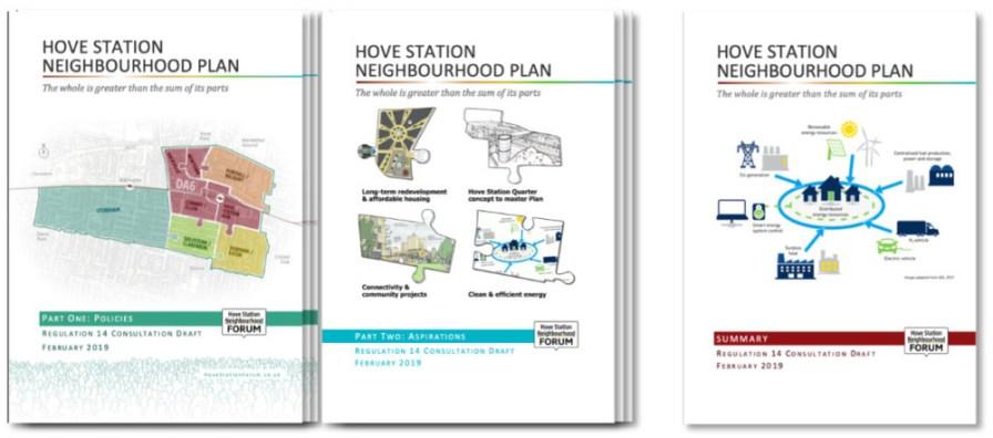 Neighbourhood Plan Regulation 14 covers