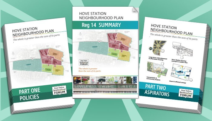 hsnf Neighbourhood Plan regulation 14 consultation covers
