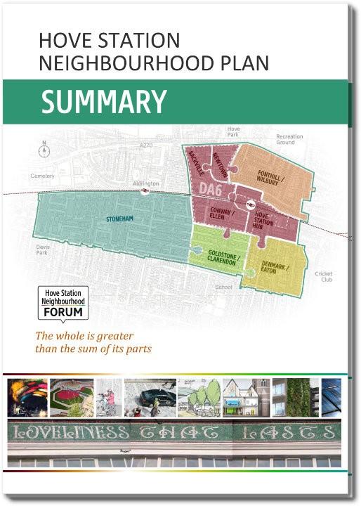 hsnf Neighbourhood Plan SUMMARY-COVER