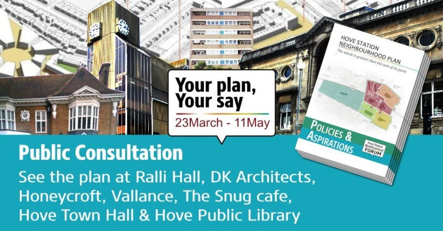 Draft Plan ready for Public Consultation - Have Your Say: 23 March - 11 May 2019