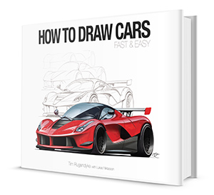How To Draw A Car Fast & Easy - with Tim Rugendyke