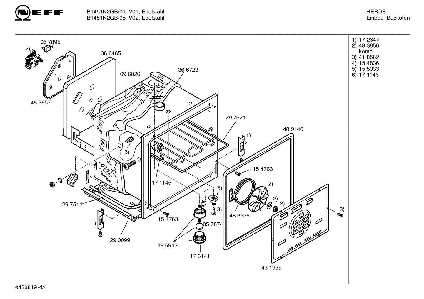Neff Oven Element Wiring Diagram