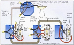 Wiring a 4way switch