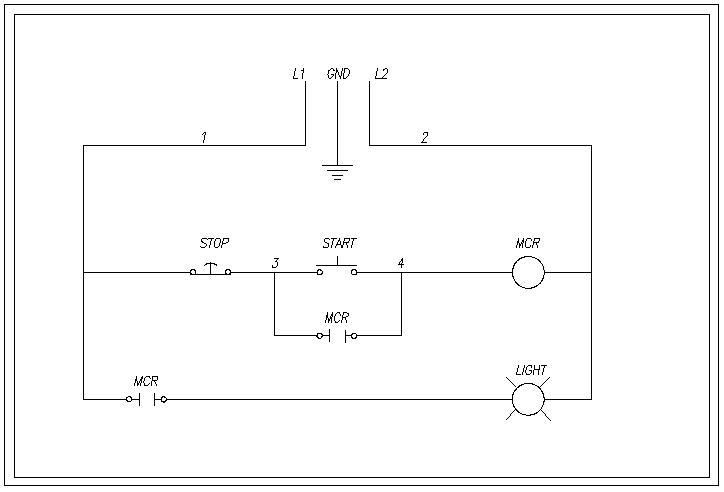 Single Phase Start Stop Motor Control Diagram Nilzanet – Start Stop Wiring Diagram