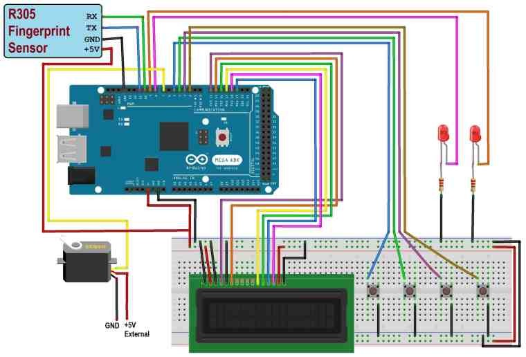 Arduino & Fingerprint Sensor Based Biometric Security System