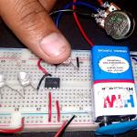 Automatic Street Light using 555 Timer Circuit