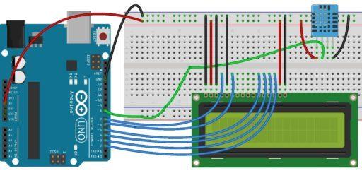 Interfacing DHT11 Humdity & Temperature Sensor with Arduino