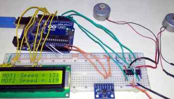 Stepper motor Control with Potentiometer and Arduino