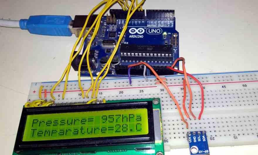 Interface BMP180 Sensor with Arduino