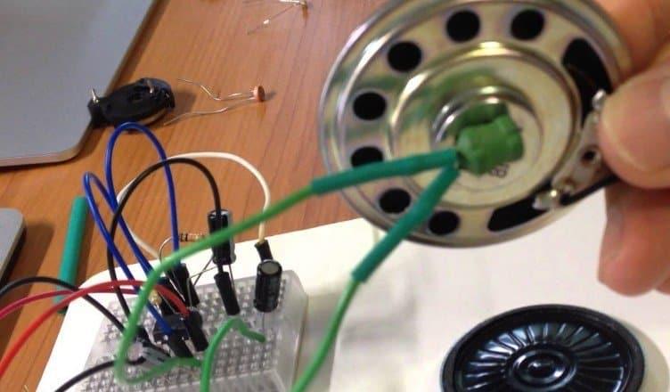 Simple Metal Detector Circuit 555 Metal Detector Circuit Diagram