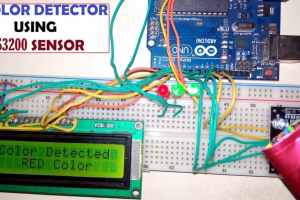 Arduino RGB Color Detector using TCS3200 Color Sensor