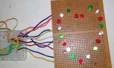 Project for Girlfriend – Heart Shaped Serial LED Flasher Circuit using 555 Timer