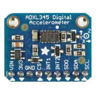 Interface ADXL345 Accelerometer with Arduino & Processing Animation