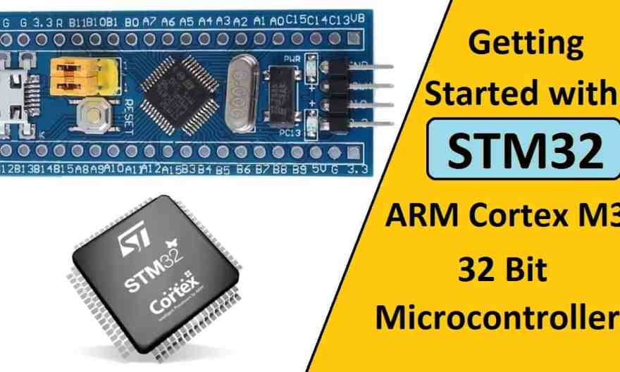 STM32 Arm Microcontroller Tutorial Getting Started with STM32F103C8T6 Bluepill & Arduino IDE