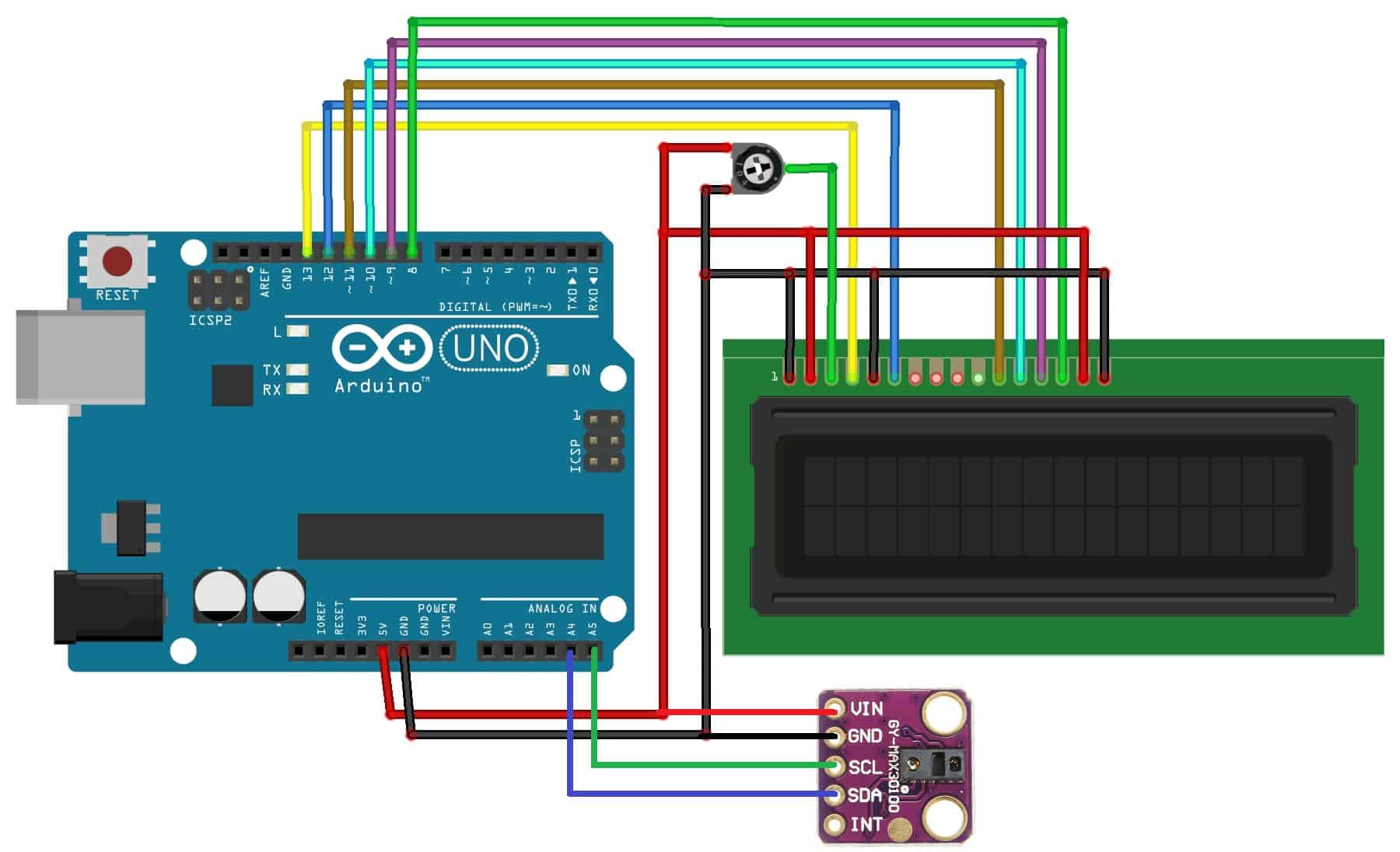 Interfacing MAX30100 Pulse Oximeter Sensor with Arduino