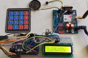 Call SMS GSM Arduino