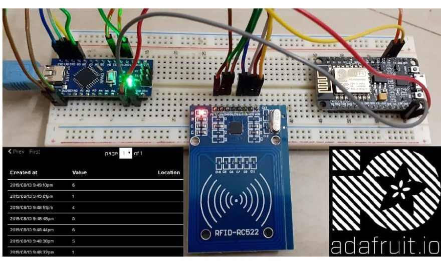 IoT Based RFID Attendance System Using Arduino ESP8266