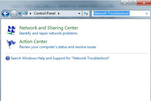network-troubleshoot