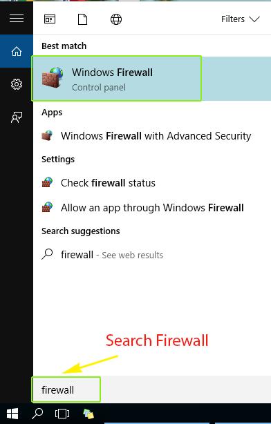 TurnOffFirewall