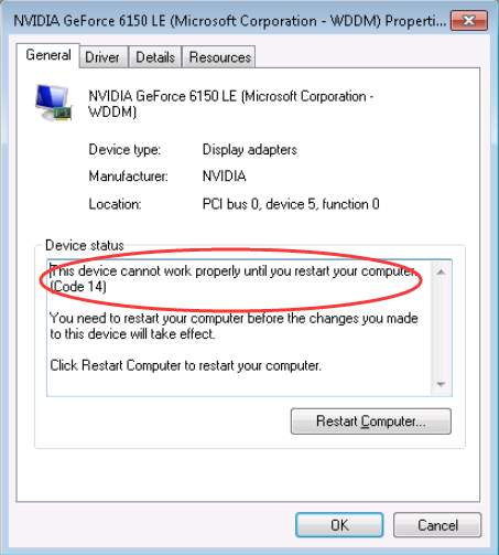 device-manager-code-14-error